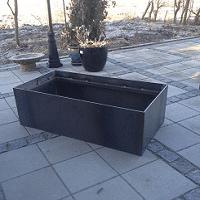 corten plantekasse